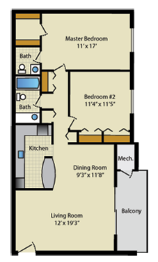 Streamside Apartments In Gaithersburg Md Floor Plans